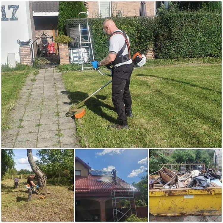Usługi porządkowe oraz ogrodnicze