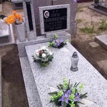 Realizacje: Pielęgnacja grobów i pomników