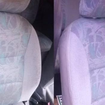 Realizacje: Pranie tapicerki samochodowej